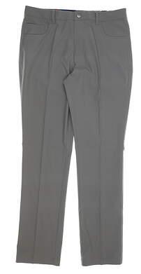 New Mens Puma 5 Pocket Pants 32 x32 Quiet Shade MSRP $80 577975