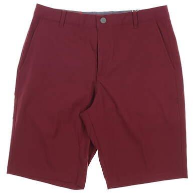 New Mens Puma Jackpot Shorts 32 Maroon MSRP $70 578182