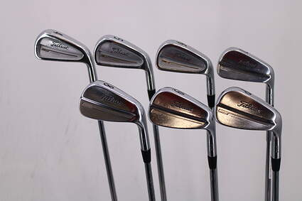 Titleist 714 CB MB Combo Iron Set 4-PW Project X 6.0 Steel Stiff Right Handed 38.5in