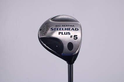 Callaway Steelhead Plus Fairway Wood 5 Wood 5W Callaway Steelhead plus Graphite Regular Right Handed 42.0in