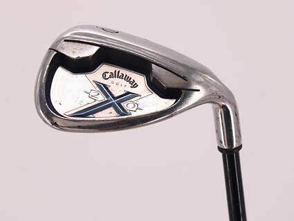 Callaway X-20 Single Iron Pitching Wedge PW Callaway x-20 graphite iron Graphite Ladies Right Handed 34.25in