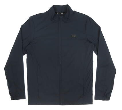 New Mens Travis Mathew Crystal Cove Jacket Small S Navy Blue MSRP $120 1MS390