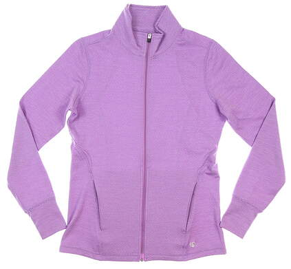 New Womens Straight Down Golf Jacket Small S Purple MSRP $96 W60312