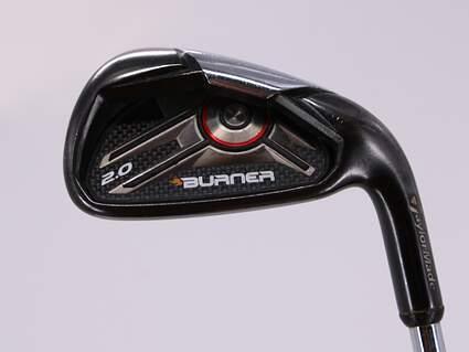 TaylorMade Burner 2.0 Single Iron 6 Iron TM Burner 2.0 85 Steel Regular Right Handed 38.0in