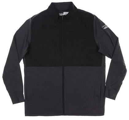 New Mens Straight Down Golf Jacket Large L Black MSRP $118