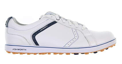 New W/O Box Mens Golf Shoe Ashworth Cardiff ADC 2 11 White MSRP $100 G54321