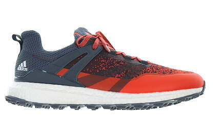 New Mens Golf Shoe Adidas Crossknit Boost Medium 11 Gray/ Orange MSRP $160 Q44919