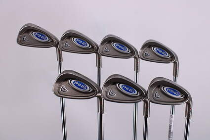 Ping i5 Iron Set 4-PW Ping CS Lite Steel Stiff Right Handed Red dot 37.75in