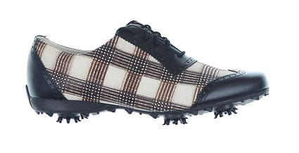 New Womens Golf Shoe Footjoy LoPro Collection Medium 9 Brown/Black MSRP $60 97174