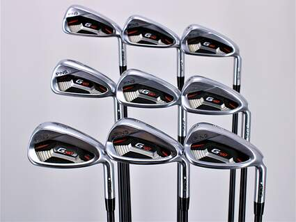 Ping G410 Iron Set 4-PW GW SW ALTA CB Red Graphite Regular Right Handed White Dot 39.75in