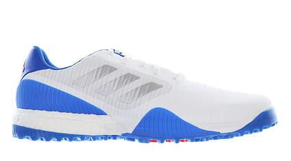 New Mens Golf Shoe Adidas Codechaos Sport Medium 11.5 White/Blue MSRP $130 EF5711