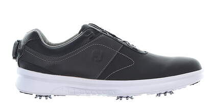 New Mens Golf Shoe Footjoy 2019 Contour Series BOA Medium 9.5 Black MSRP $160 54186