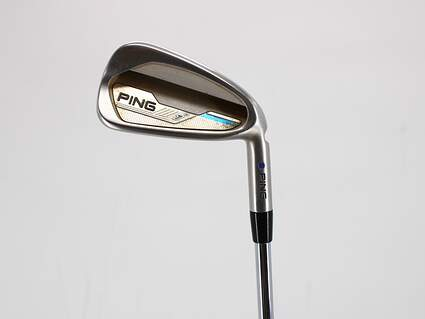 Ping 2015 i Single Iron 7 Iron Ping CFS Distance Steel Regular Right Handed Blue Dot 37.5in