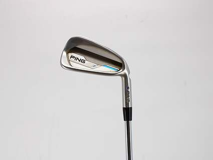 Ping 2015 i Single Iron 6 Iron Ping CFS Distance Steel Regular Right Handed Blue Dot 38.5in