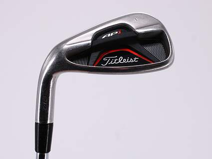 Titleist 712 AP1 Single Iron Pitching Wedge PW True Temper Dynalite Gold Steel Regular Left Handed 35.75in
