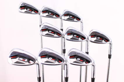 Ping G410 Iron Set 4-PW GW SW AWT 2.0 Steel Regular Right Handed Black Dot 38.25in