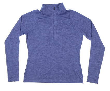 New Womens Under Armour 1/4 Zip Pullover Medium M Purple MSRP $65 UW1269