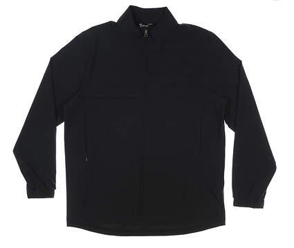 New Mens Under Armour Wind Jacket Large L Black MSRP $85