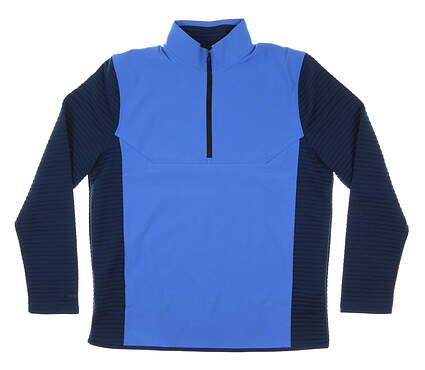 New Mens Under Armour Wind Jacket Large L Blue MSRP $90