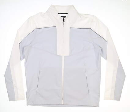 New Mens Under Armour Wind Jacket Large L Gray MSRP $90