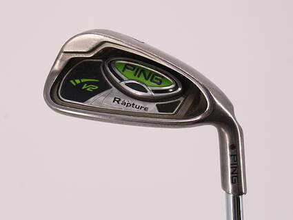 Ping Rapture V2 Single Iron 7 Iron Ping AWT with Cushin Insert Steel Regular Right Handed Black Dot 36.75in