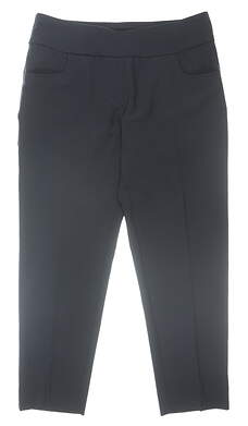 New Womens Ping Adele Pants 10 Navy Blue MSRP $90 P93400