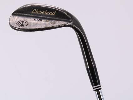 Cleveland CG15 Black Pearl Wedge Sand SW 54° 10 Deg Bounce Cleveland Traction Wedge Steel Wedge Flex Right Handed 35.5in