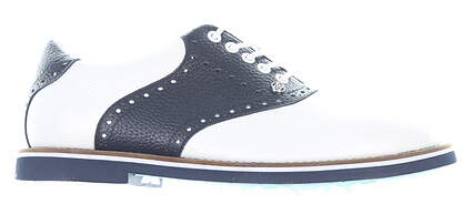 New Mens Golf Shoe G-Fore Gallivanter Medium 8.5 White/Navy MSRP $185 G4MC20EF03