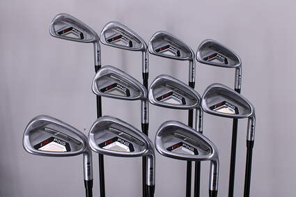 Ping I25 Iron Set 3-PW GW SW Ping TFC 189i Graphite Stiff Right Handed Black Dot 37.75in