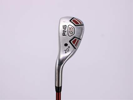 Ping G15 Hybrid 3 Hybrid 20° Ping TFC 149H Graphite Regular Left Handed 39.25in