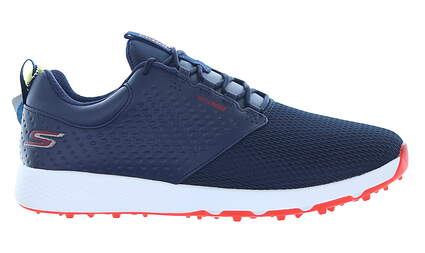 New Mens Golf Shoe Skechers Go Golf Elite 4 Prestige 8 Blue/White MSRP $115 54553 NVRD