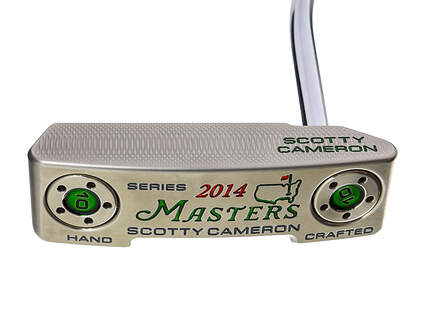 """Titleist Scotty Cameron 2014 Newport 2 NP2 Notchback Masters Putter Steel Right Handed 34"""" Head Cover Included"""