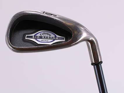 Callaway 2002 Big Bertha Single Iron 6 Iron Callaway RCH 65i Graphite Ladies Right Handed 36.25in