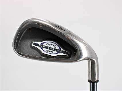 Callaway 2002 Big Bertha Single Iron 4 Iron Callaway RCH 65i Graphite Ladies Right Handed 37.5in