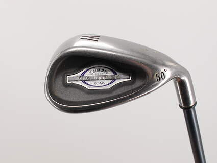 Callaway 2002 Big Bertha Single Iron Pitching Wedge PW 50° Graphite Ladies 34.25in