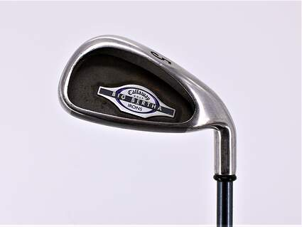 Callaway 2002 Big Bertha Single Iron 5 Iron Callaway RCH 65i Graphite Ladies Right Handed 37.0in