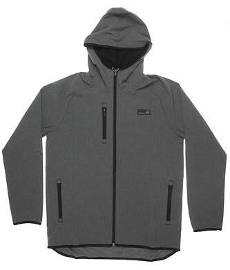 New Mens Puma Hooded Jacket Medium M Gray MSRP $150 531149