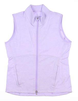 New Womens Puma Vest Small S Light Lavender MSRP $75 599266