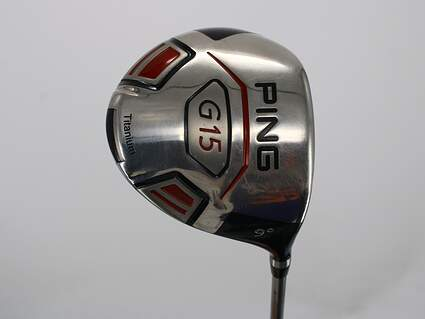 Ping G15 Driver 9° Diamana S+ 63 Limited Edition Graphite Stiff Right Handed 45.0in