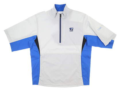 New W/ Logo Mens Footjoy Hydrolite Wind Breaker Small S Gray MSRP $100 23731