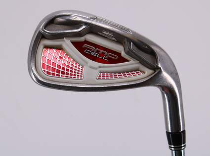 Cobra AMP Cell Red Single Iron 8 Iron True Temper Dynalite 90 Steel Stiff Right Handed 36.75in