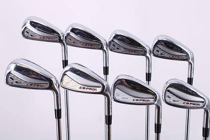 Tour Edge CB PROh Iron Set 3-PW FST KBS Tour Steel Stiff Right Handed 37.5in