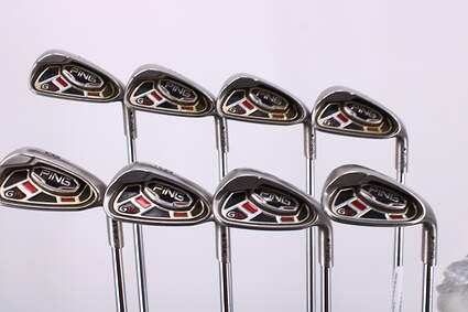 Ping G15 Iron Set 4-PW GW Ping AWT Steel Stiff Right Handed Black Dot 37.75in