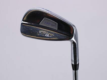 Titleist 735.CM Chrome Single Iron 8 Iron Project X Rifle 6.0 Steel Stiff Right Handed 36.25in