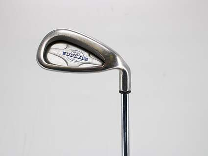 Callaway X-14 Single Iron 8 Iron Dynamic Gold Sensicore S300 Steel Stiff Right Handed 37.5in