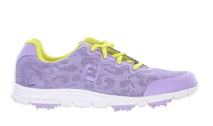 New Footjoy Junior Golf Shoe Medium 5 Purple MSRP $80 48205
