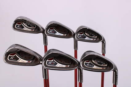 Ping K15 Iron Set 5-PW Ping TFC 149I Graphite Senior Right Handed Black Dot 37.75in