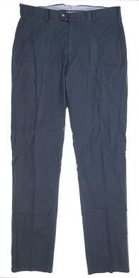 New Mens Peter Millar4 Season Golf Pants 36 x30 Blue MSRP $145 MC0B48