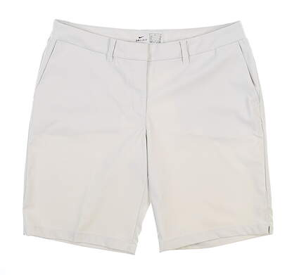 New Womens Nike Golf Shorts 8 Khaki MSRP $65 884923