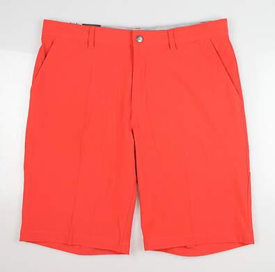 New Mens Adidas Ultimate 365 Golf Shorts 34 Real Coral MSRP $70 FP7269